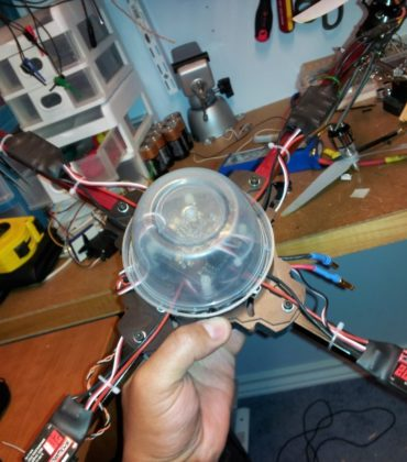Multicopter Quad (Xcopter)