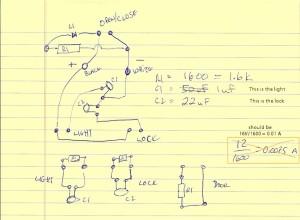 My interpretation of the circuit