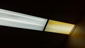 The difference between florescent and LED